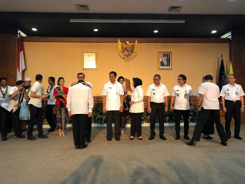 Menkumham Resmikan Desa Sadar Hukum di Bali