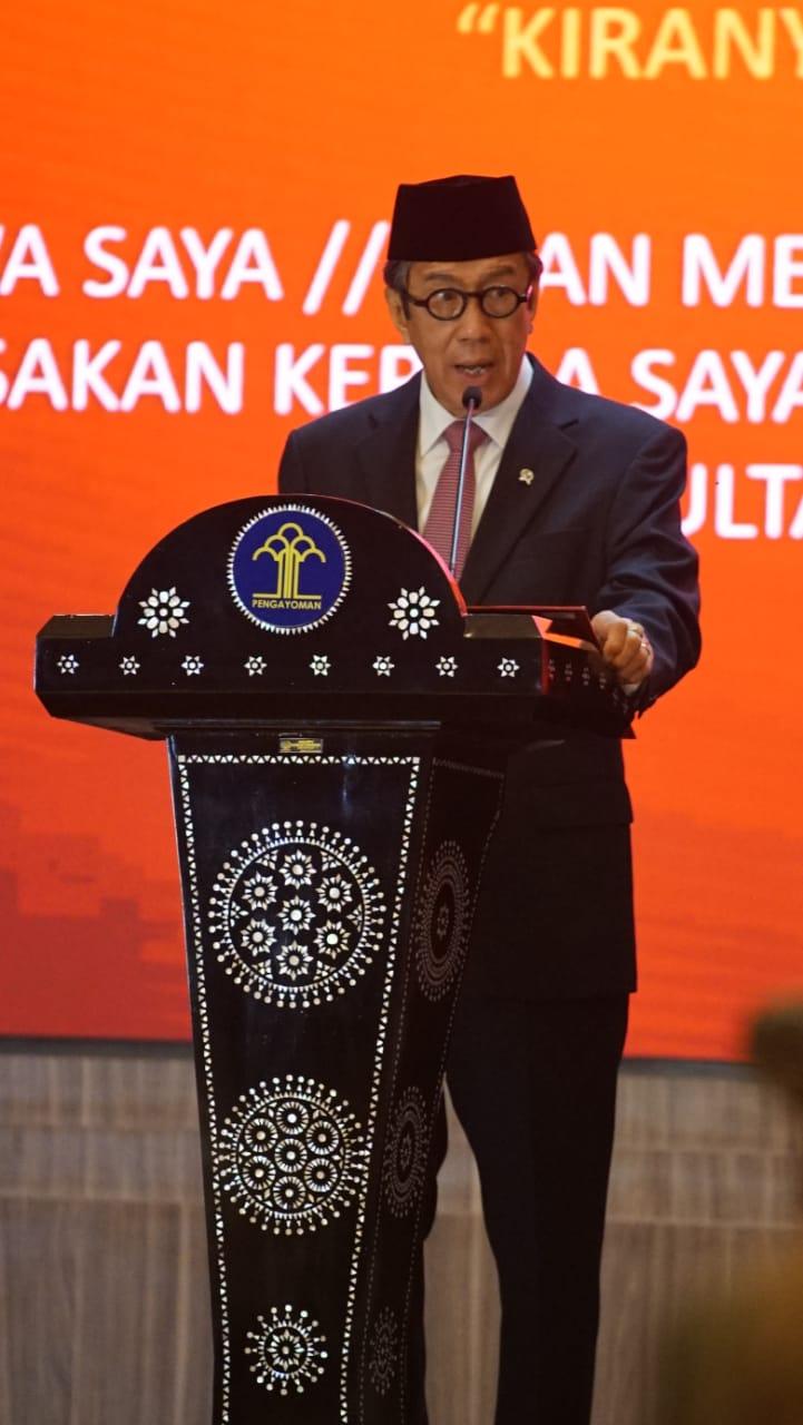 Lantik 139 Konsultan Kekayaan Intelektual, Menkumham